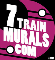 7Train Murals logo