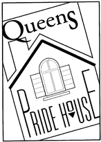 Queens Pride House logo