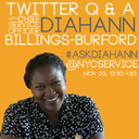 Live Twitter Q&A with CSO  Diahann Billings-Burford