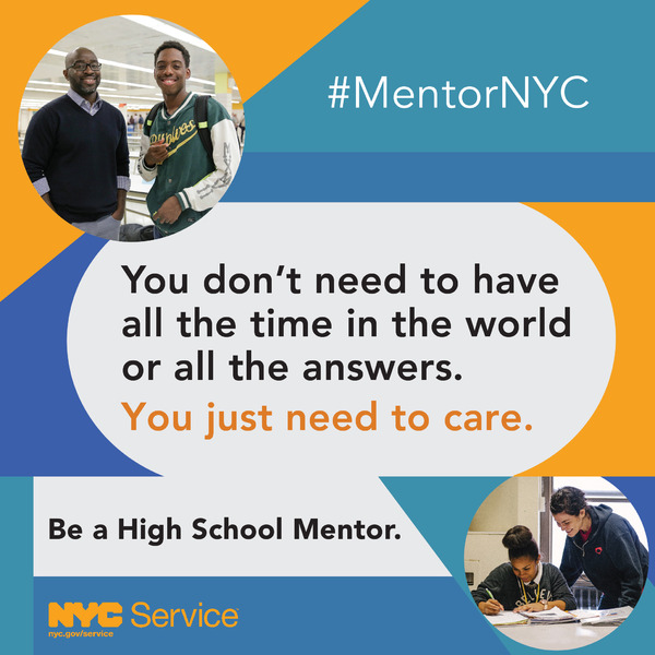 NYC Youth Mentoring Initiative - NYC Service