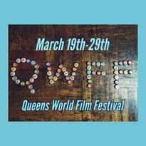 The Queens World Film Festival logo